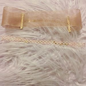 Pink Chocker Set